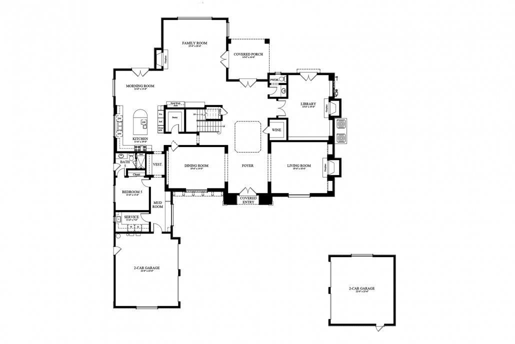 13 Williamsburg Way - Plans